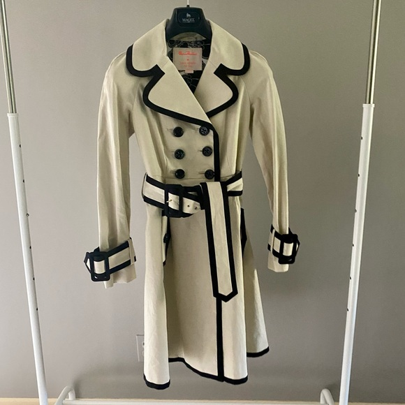 Kate Spade Lined Double Breasted Trench Coat